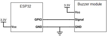 esp32-buzzer-diragram